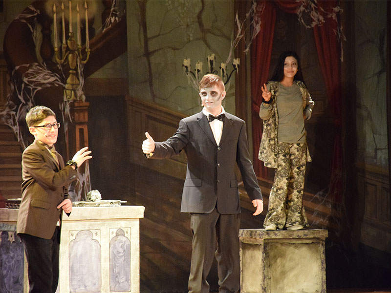 Addams Family Takes Stage at JFK