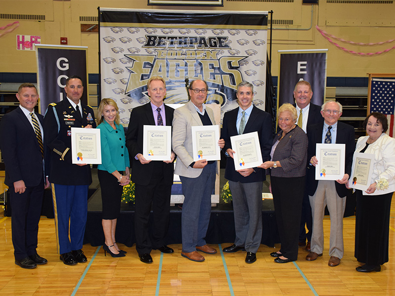 Bethpage Educational Foundation Announces 2019 Hall of Fame Inductees...