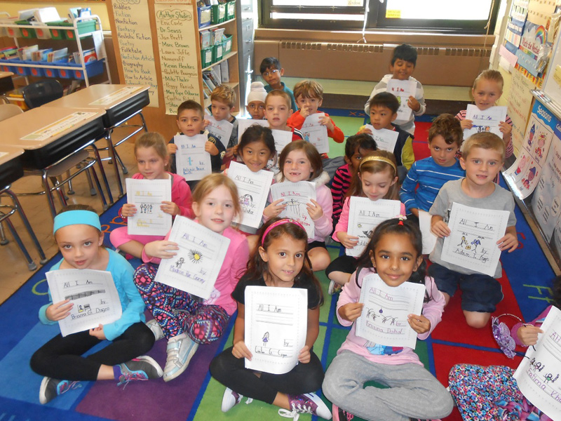 First Grade Author Celebration at Charles Campagne School