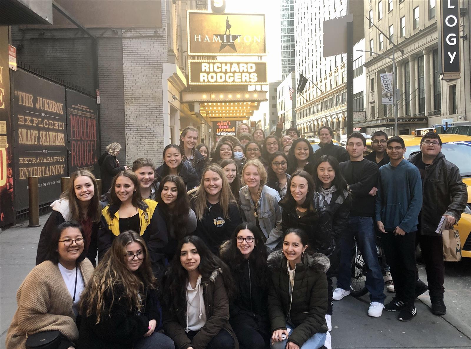 Bethpage High School Visits Broadway