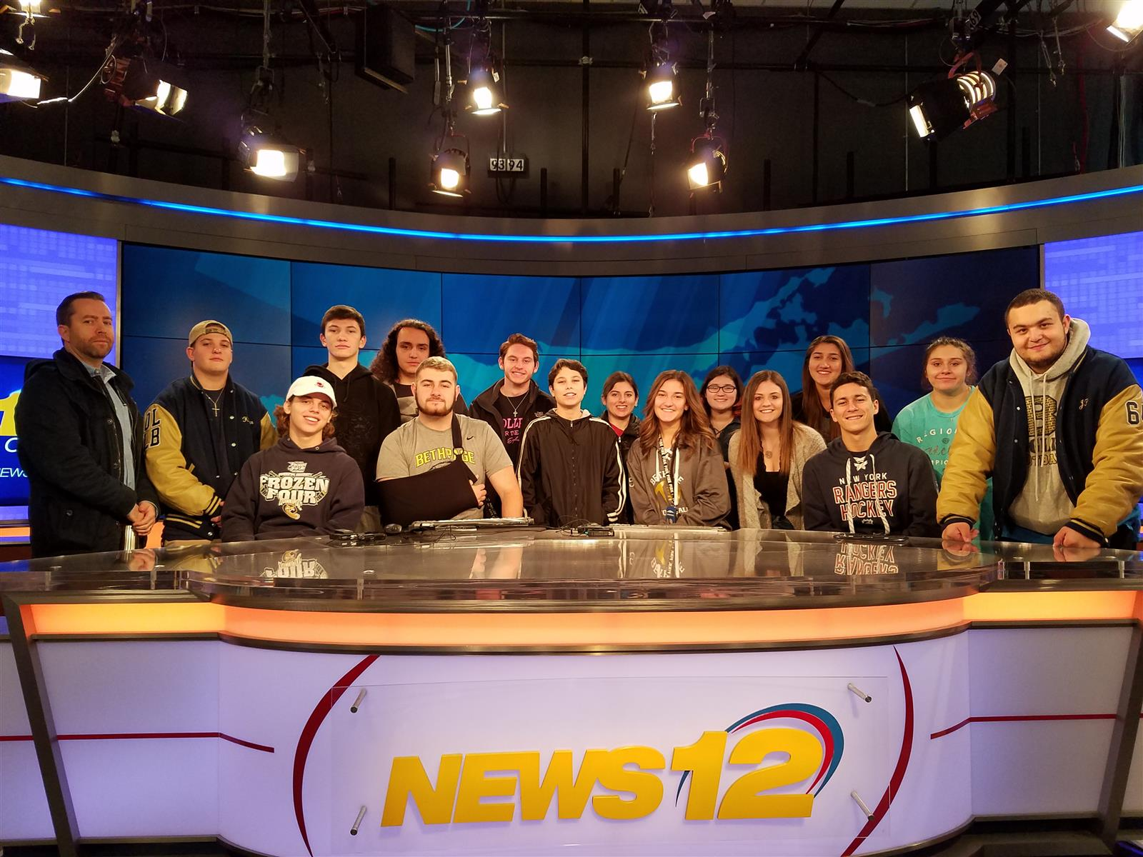 BHS TV Visits News 12
