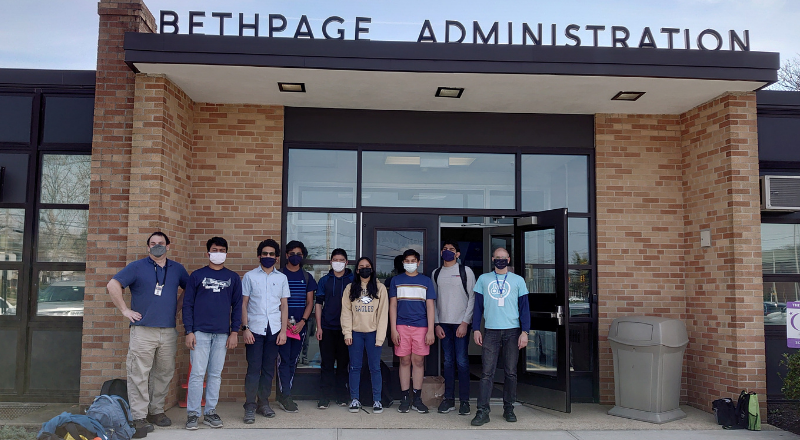 The Bethpage Bytes Compete in Hackathon