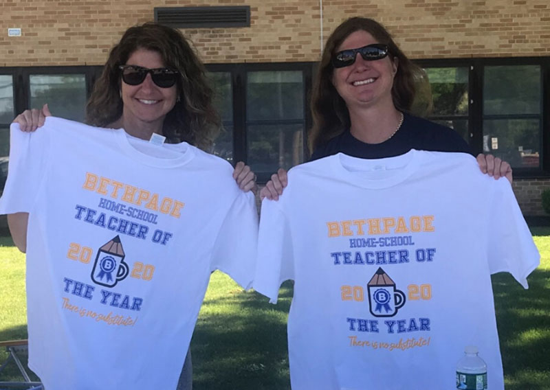 Bethpage Teacher Sells T-shirts For a Cause