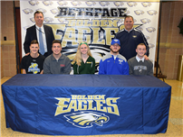 Bethpage High School Students Sign Letters Of Intent photo