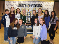 Bethpage HS Girls Volleyball Teams Recognized For Sportsmanship photo