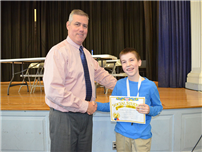 Two-Time Geography Bee Winner Named At JFK Middle School photo