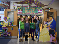 Bethpage High School French Students Celebrate Mardi Gras photo