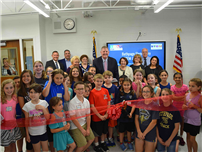 Bethpage Debuts STEM Lab photo