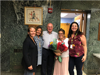 Dittrich Honored with Bethpage PTA Honorary Life Award photo