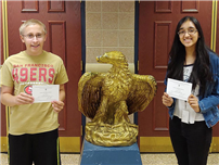 Seniors Earn National Merit Commended Student Honors photo