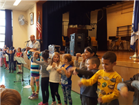 Kramer Lane Students Learn about Respect photo