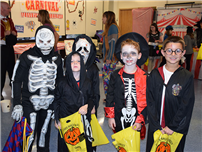 Trick-Or-Treaters Fill The Halls Of Bethpage High School photo thumbnail138553