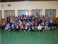 Kramer Lane Treated with Special Islanders' Visit photo