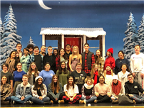 "Bethpage HS Masquers Guild Displays Talent in  Production of ""Almost, Maine"" photo thumbnail143766"