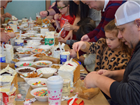 Kramer Lane Students Build Gingerbread Houses for The Holidays photo thumbnail146671