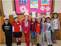 Celebrating Reading with Dr. Seuss photo